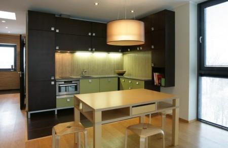 köögimööbel-rohekas-mööbel-tumeda-taustaga